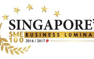 We are Singapore's Business Luminary SME 100!