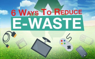 4 Ways to Reduce Your E-waste you can do right now!